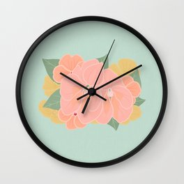 Floral Arrangements 20 Wall Clock