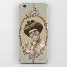 Madame Skull iPhone & iPod Skin