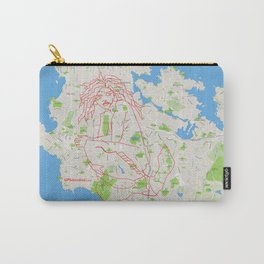 The Siren of the Salish Sea Carry-All Pouch