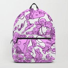 Retro Gamer - Pink Backpack