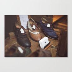 Camdem Shoes Canvas Print