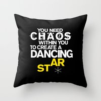 nietzsche Throw Pillows featuring ALSO SPRACH ZARATHUSTRA by THE USUAL DESIGNERS