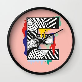 E for …. Wall Clock