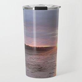 Panoramic Sunset on the Cove Travel Mug