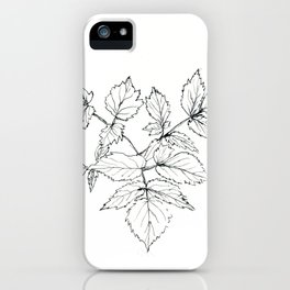 forest branch iPhone Case