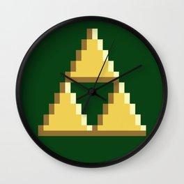 TRI PATTERN Wall Clock