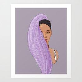 RihPurp Art Print