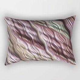 Creamy Colors, discrete Rectangular Pillow