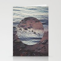 circle Stationery Cards featuring CIRCLE by Julia Yusupov