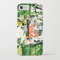 posters iPhone & iPod Cases featuring posters 2 by Renee Ansell