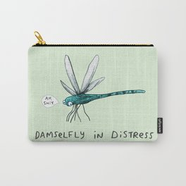 Damselfly in Distress Carry-All Pouch