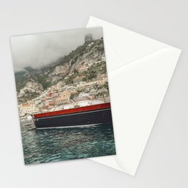 A boat ride in the Amalfi Coast Stationery Cards