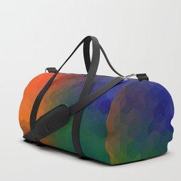 Geometric shapes 3 Duffle Bag