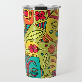 Tiki tiki Travel Mug