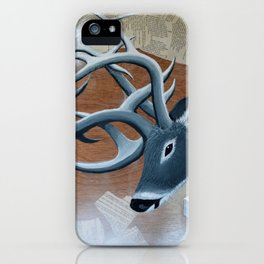 Deer Cubed iPhone Case