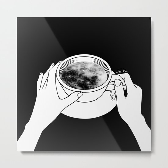 Morning please don't come Metal Print