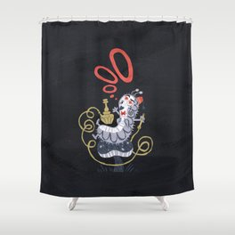 Caterpillar - Alice in Wonderland Shower Curtain