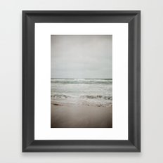 Dark Tides Framed Art Print