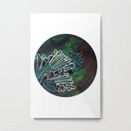Tranquilo Metal Print