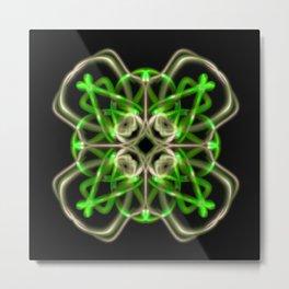 Astract Light Art  Metal Print