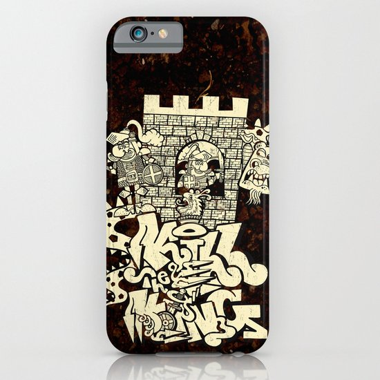 kill the king. iPhone & iPod Case