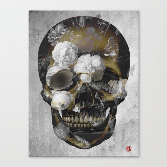 Skull No.3 Canvas Print