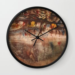 Middle of the Earth Wall Clock