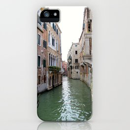 Travelling the Canals of Venice iPhone Case