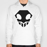 bleach Hoodies featuring Bleach Skull 2 by Prince Of Darkness
