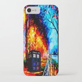 Tardis Style iPhone Case