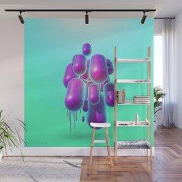 PurplePills Wall Mural