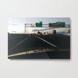 American Roads - 10 West Metal Print