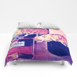 CHANELNo. 5 in Color Comforters