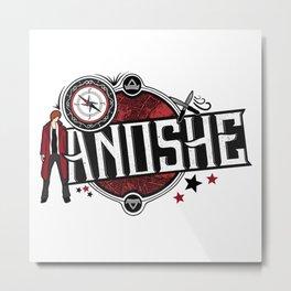 Anoshe (ADSOM) Inspired Metal Print