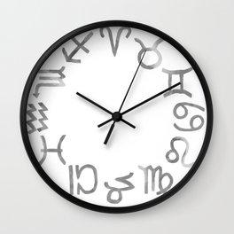 Astrology  Zodiac Signs Wall Clock