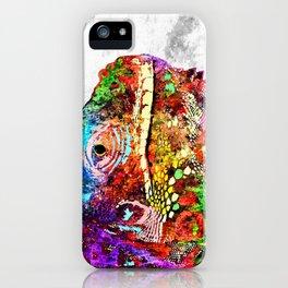 Iguana Grunge iPhone Case