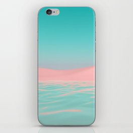 Pink Beach iPhone Skin