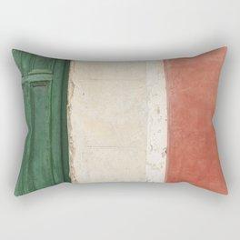 Italian Street Wall Rectangular Pillow
