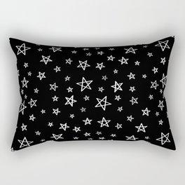 HAND DRAWN STARS Rectangular Pillow