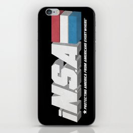 iN.S.A - iNternet Security Agency iPhone Skin