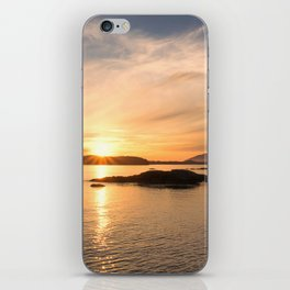 Vacation Sunset in Tofino iPhone Skin