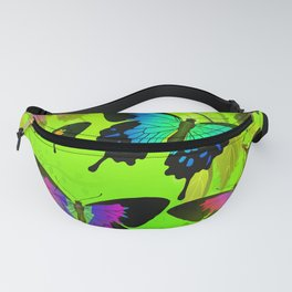 Painted Lady and Morph Butterflies Fanny Pack