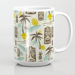Island Tiki - Tan Coffee Mug