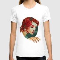 """smoking T-shirts featuring """"Smoking Princess"""" by Giulio Rossi"""