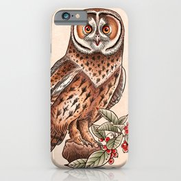 Vintage Hooter iPhone Case