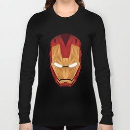 Geometric Iron Man Long Sleeve T-shirt