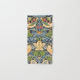 William Morris Strawberry Thief Restored Hand & Bath Towel
