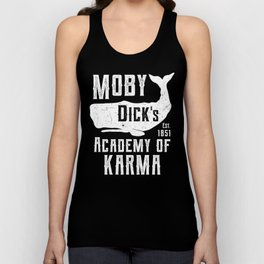 The Moby Dick Academy of Karma Unisex Tank Top
