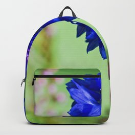 Beauty of blue cornflower Backpack