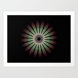 The Wishing Flower Art Print